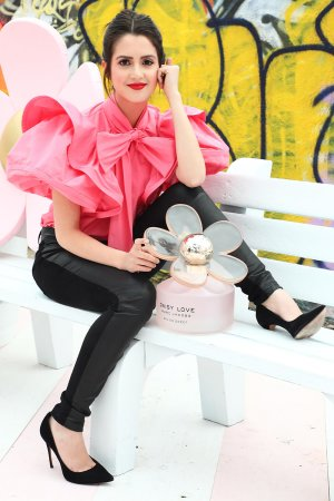 Laura Marano attends Marc Jacobs Daisy Love Eau So Sweet Fragrance Pop-Up Event