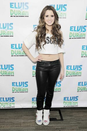 Laura Marano attends The Elvis Duran Z100 Morning Show
