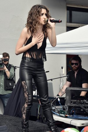 Laura Marano performs at Elizabeth Glaser Pediatric Aids Foundation A Time For Heroes festival