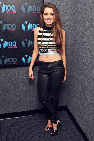 Laura Marano visits Radio Station 'Y-100'