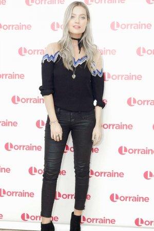 Laura Whitmore at Lorraine