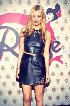 Laura Whitmore at Rouge Nightclub in Dublin