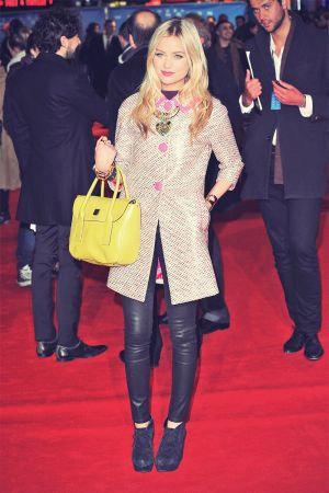 Laura Whitmore at the Flight Premiere