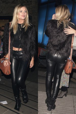 Laura Whitmore at the Roundhouse for the Apple Music Britney Spears Concert