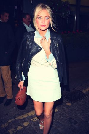 Laura Whitmore attends AnOther Magazine's LFW Party