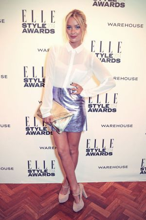 Laura Whitmore attends Elle Style Awards 2014