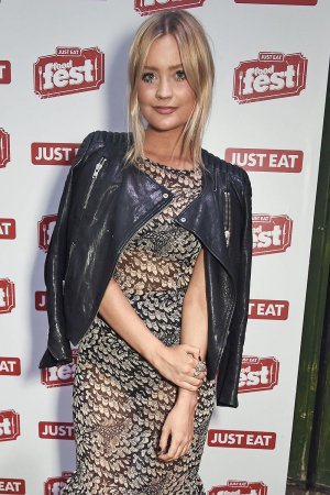 Laura Whitmore attends Just Eat Food Fest