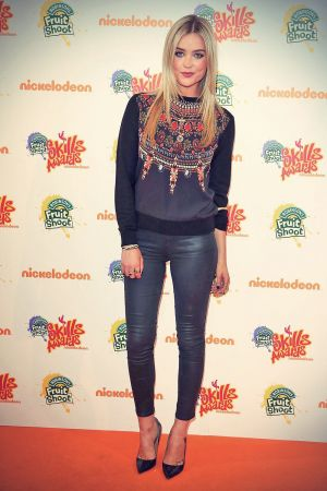 Laura Whitmore attends Nickelodeon Fruit Shoot Skills Awards