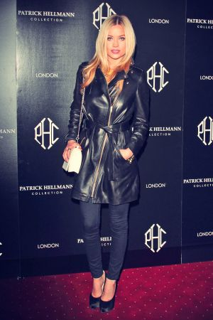 Laura Whitmore attends Patrick Hellmann Store Launch and Collection Preview
