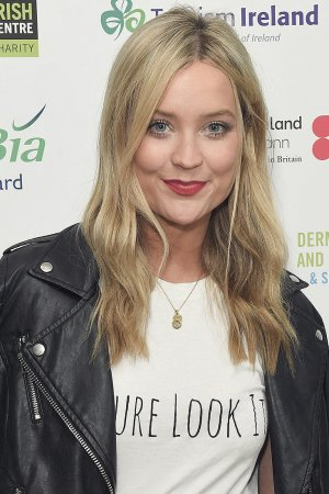 Laura Whitmore attends The London Irish Center Gala