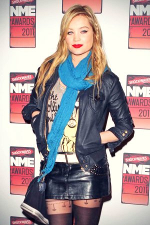 Laura Whitmore attends the Shockwaves NME Awards 2011