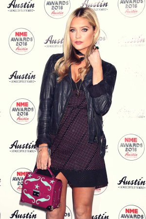 Laura Whitmore leaving The NME Awards 2016