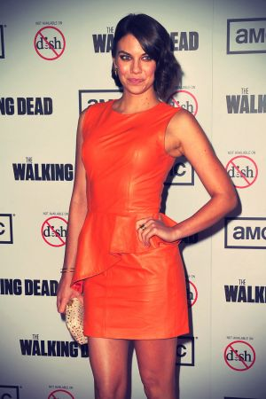Lauren Cohan at Premiere of AMC's The Walking Dead 3rd Season
