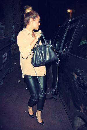 Lauren Conrad leaves Aventine Restaurant