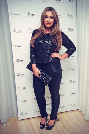 Lauren Goodger attends Avenue Swimwear Launch