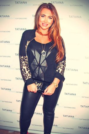 Lauren Goodger attends Benefit Cosmetics new Carnaby Street boutique