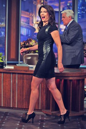 Lauren Graham on the Tonight Show with Jay Leno
