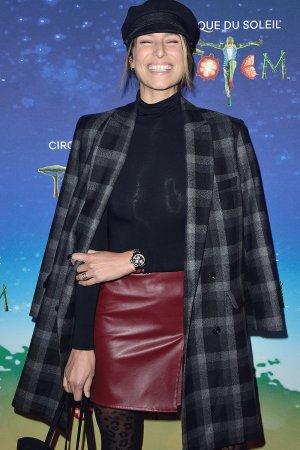 Laury Thilleman attends VIP Premiere of Cirque du Soleil's Totem Show