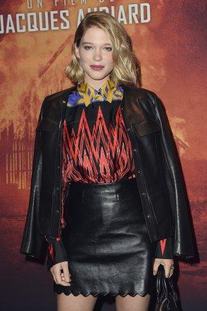 Lea Seydoux attends Premiere of Les freres Sisters