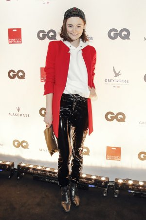Lea van Acken attends GQ Mension Style Party