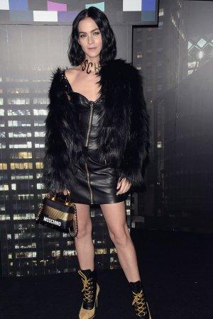 Leigh Lezark attends Moschino x H&M Show