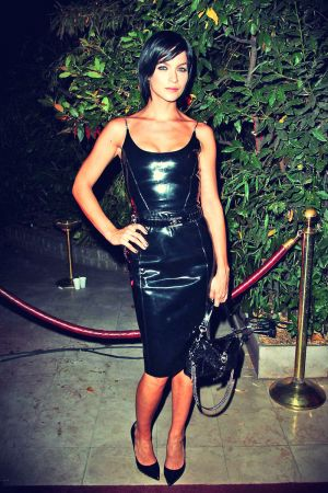 Leigh Lezark attends the Mademoiselle C cocktail party