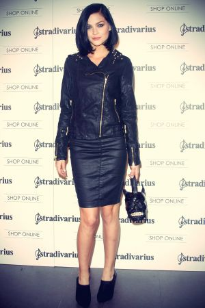 Leigh Lezark attends the Stradivarius party
