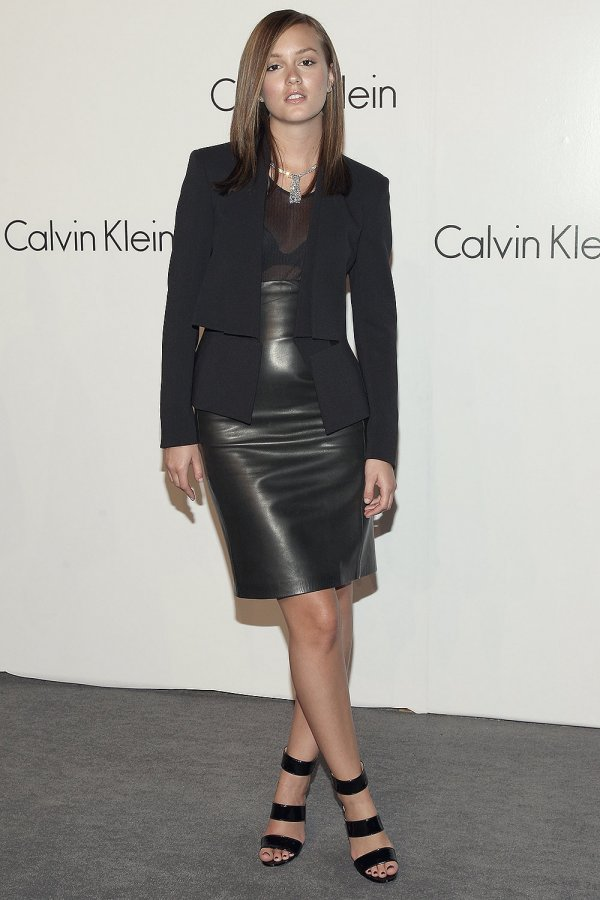 Leighton Meester attends Calvin Klein 40th Anniversary Party