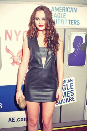 Leighton Meester attends Grand Opening Celebration