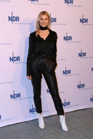 Lena Gercke at NDR Talkshow