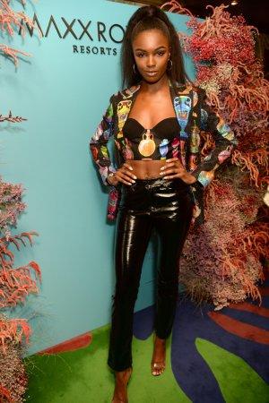 Leomie Anderson attends Natalia Vodianova x Maxx Resorts party