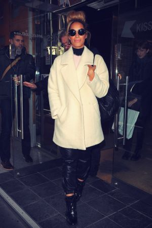 Leona Lewis at Kiss FM in London