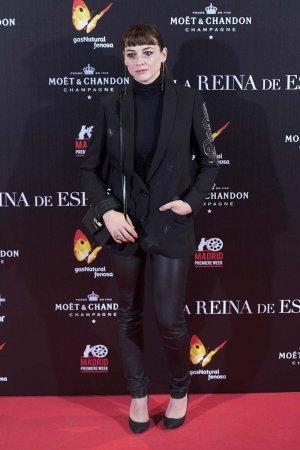 Leonor Watling attends La Reina de Espana premiere