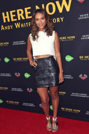 Lesley Ann Brandt is seen attending the premiere of Be Here Now from Silver Lining Entertainment