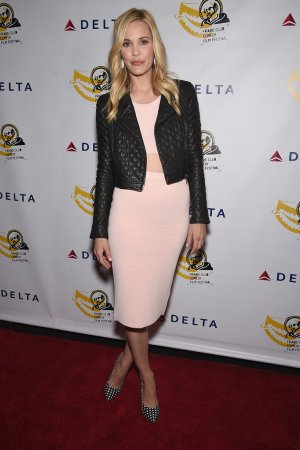 Leslie Bibb attends The Friar Club Presents Take Care New York Screening