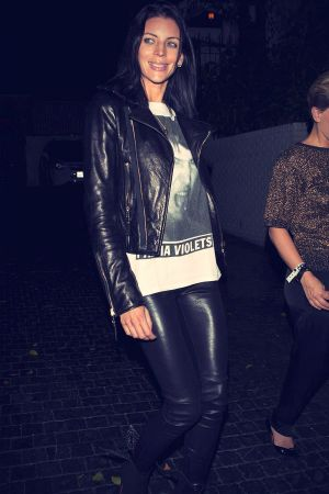 Liberty Ross leaves the Chateau Marmont