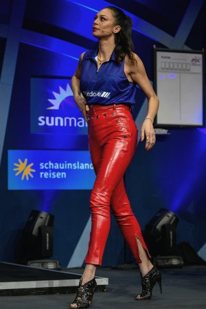 Lilly Becker at Promi Darts 2019