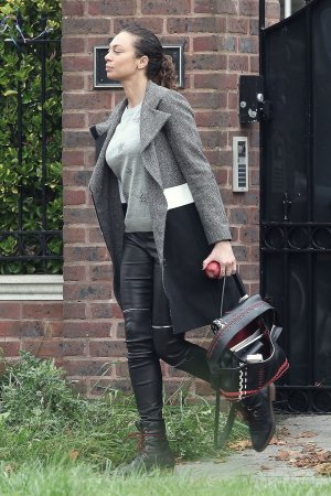 Lilly Becker leaving her home