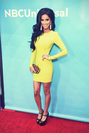 Lilly Ghalichi attends NBCUniversal's 2013 Winter TCA Tour