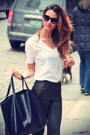Lily Aldridge out and about in NYC
