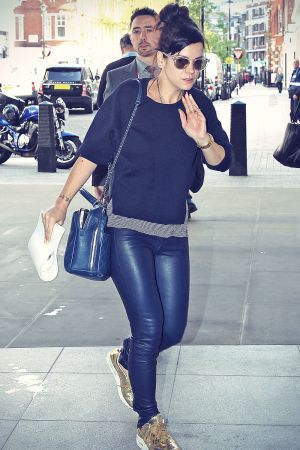Lily Allen at BBC Radio 1 studios