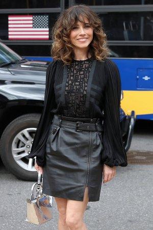 Linda Cardellini attends Longchamp show