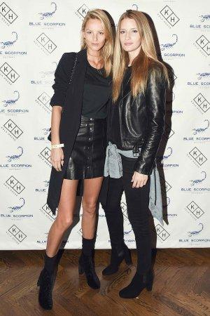 Linda Vojtova & Michaela Kocianova at Blue Scorpion Investments First Year Anniversary Party