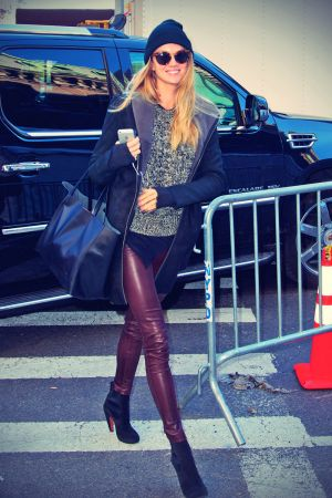 Lindsay Ellingson arrive for VS Fashion Show