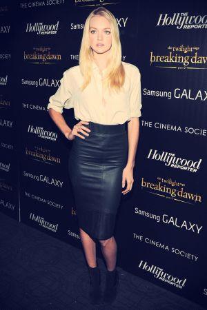 Lindsay Ellingson at The Twilight Saga Breaking Dawn 2