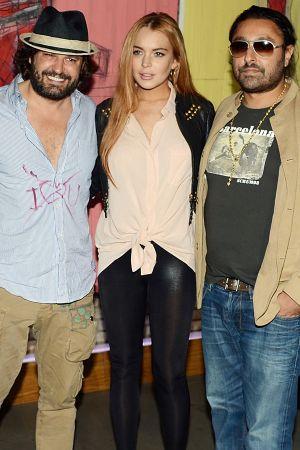Lindsay Lohan at Domingo Zapata