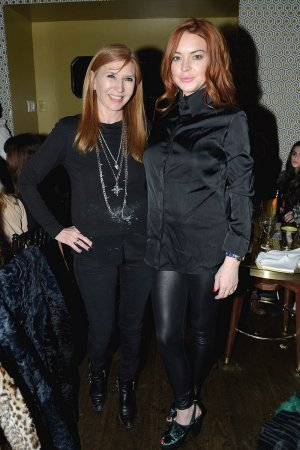 Lindsay Lohan attends the Nicole Miller Fall 2017 After Party