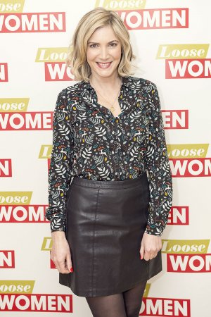 Lisa Faulkner at Loose Women TV Show