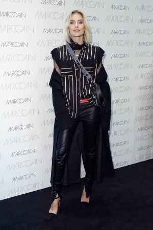 Lisa Hahnbueck attends the Marc Cain fashion show A/W 2017