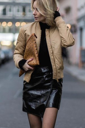 Lisa Hahnbueck Street Style In Berlin